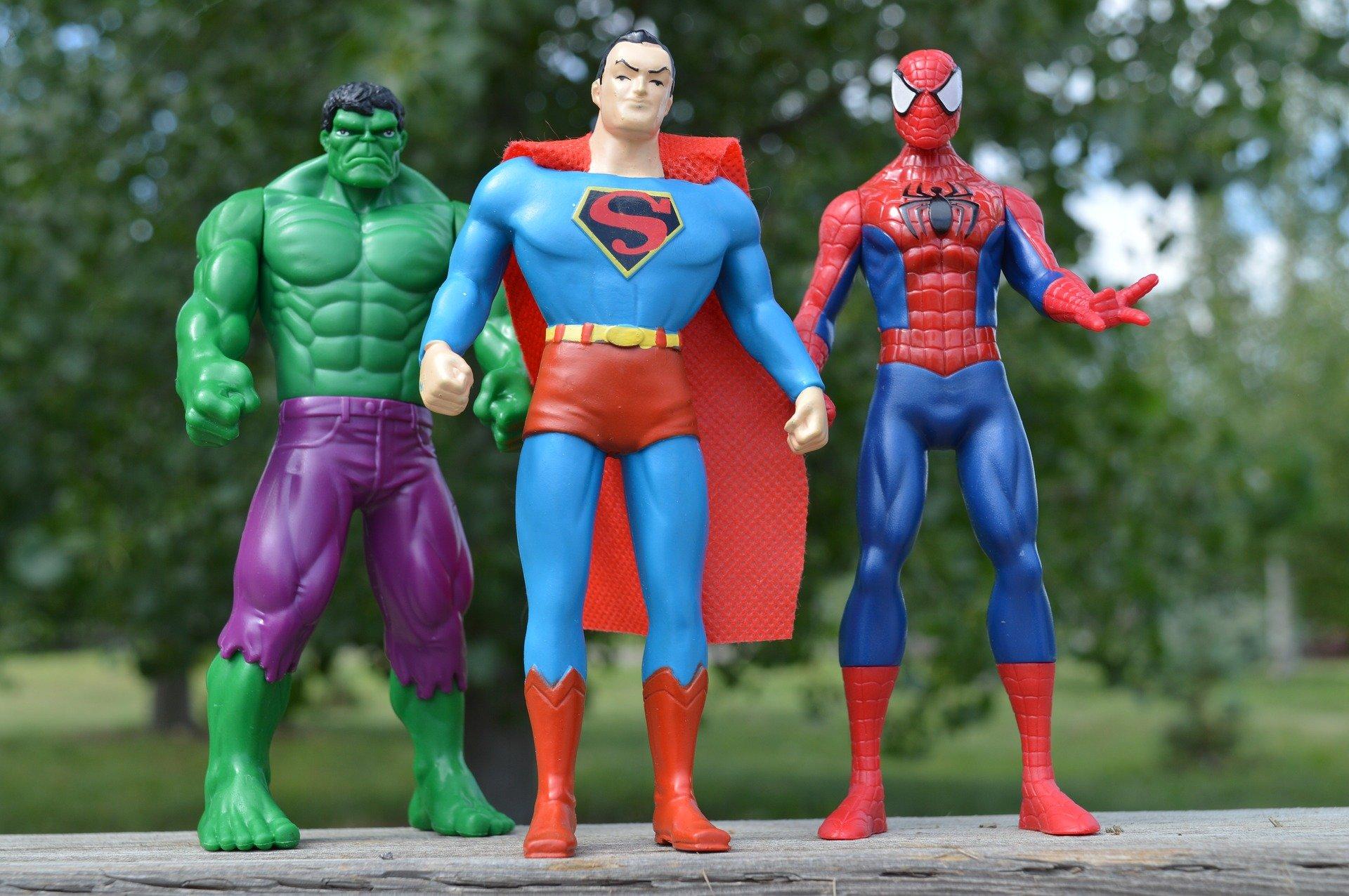 Ist es nicht schön, ein*e Superheld*in zu sein?